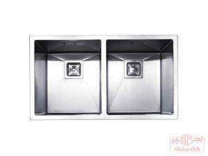 سینک-ظرفشویی-توکار-استیل-مس-مدل-D34-دولگن
